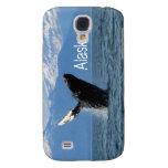 Humpback Whale Breaching; Alaska Samsung Galaxy S4 Cover