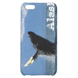 Humpback Whale Breaching Alaska iPhone 5C Covers
