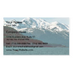 Humpback Whale Breaching in Southeast Alaska Business Card Template
