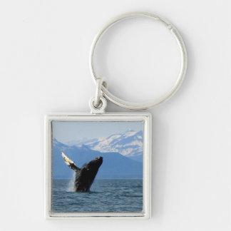 Humpback Whale Breaching Keychain