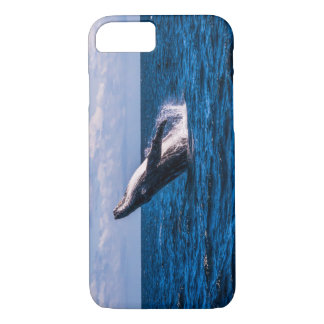 Humpback Whale Breaching off Surfers Paradise iPhone 7 Case