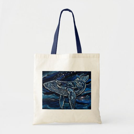 Humpback Whale Budget Tote Bag