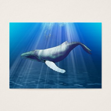 Professional Business Humpback Whale Business card