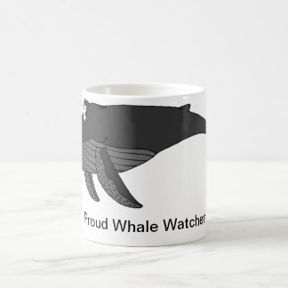 Humpback Whale Cartoon Coffee Mug