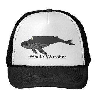 Humpback Whale Cartoon Mesh Hats