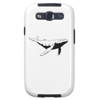 Humpback Whale Samsung Galaxy SIII Cases