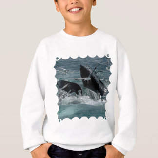 Humpback Whale Children's Sweatshirt