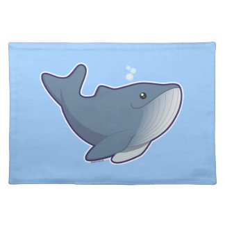 Humpback Whale Cloth Placemat