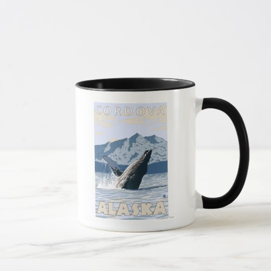 Humpback Whale - Cordova, Alaska Mug