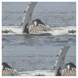 Humpback Whale Fabric