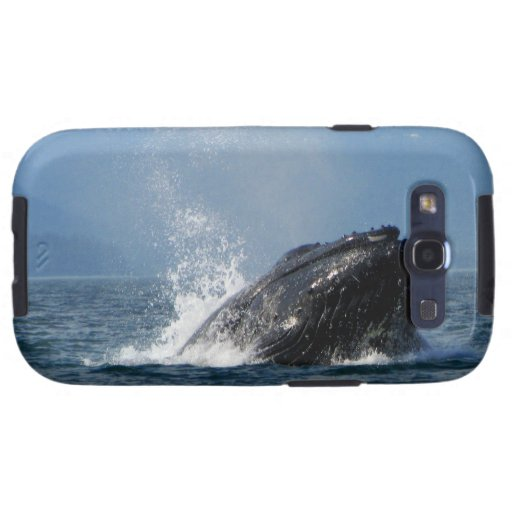 Humpback Whale Feeding Samsung Galaxy S3 Covers