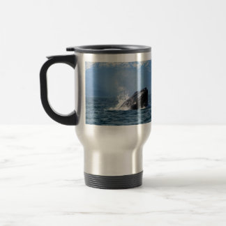 Humpback Whale Feeding Travel Mug