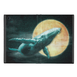 Humpback Whale Flying to The Moon iPad Mini Cases