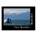 Humpback Whale Head Business Cards