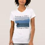Humpback Whale Head; Customizable Tee Shirt