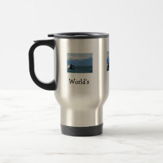 Humpback Whale Head; Happy Father's Day Travel Mug