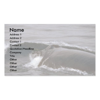 Humpback Whale (Head Shot) Double-Sided Standard Business Cards (Pack Of 100)