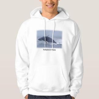 Humpback Whale Hooded Sweatshirt
