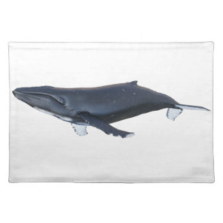 Humpback Whale in Profile Placemat