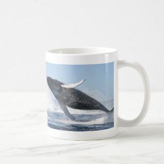 Humpback Whale Jumping High Coffee Mug
