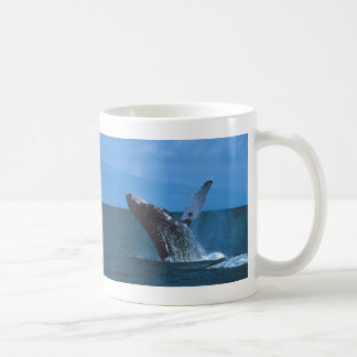 Humpback whale Jumping Classic White Coffee Mug