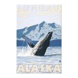 Humpback Whale - Juneau, Alaska Stretched Canvas Print