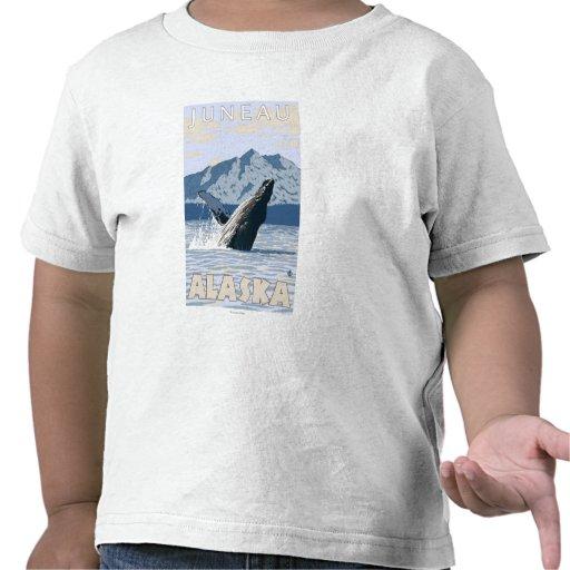 Humpback Whale - Juneau, Alaska Tee Shirts