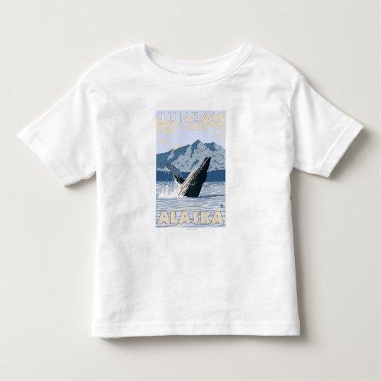 Humpback Whale - Juneau, Alaska Toddler T-shirt