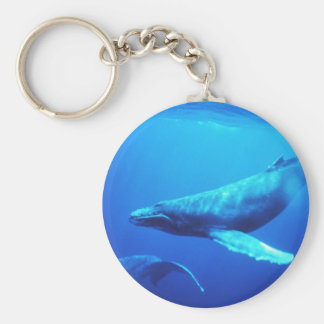 Humpback Whale Keychain