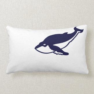 Humpback Whale Lumbar Pillow