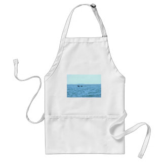 HUMPBACK WHALE MACKAY TAIL QUEENSLAND AUSTRALIA ADULT APRON