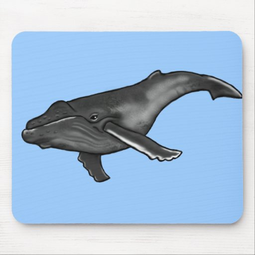 humpback whale mouse pads