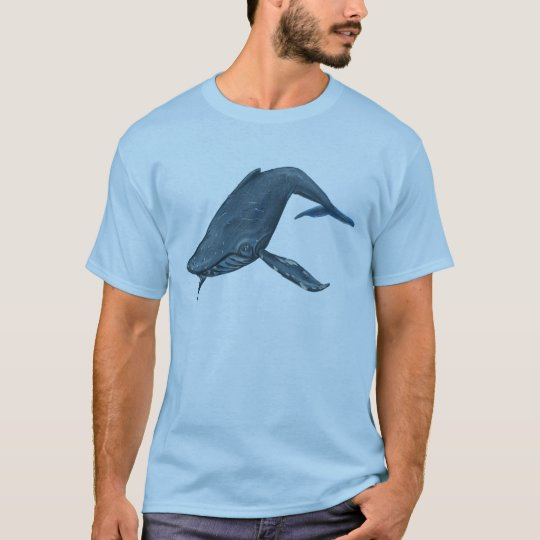 Humpback Whale Painting T-Shirt