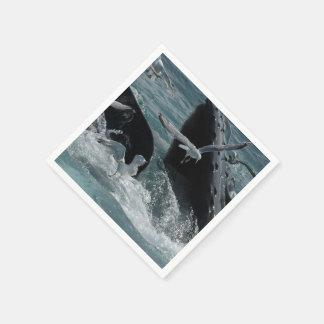 Humpback Whale Paper Napkin