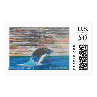 Humpback whale postage