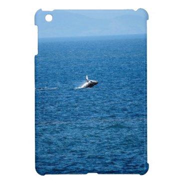 Beach Themed HUMPBACK WHALE QUEENSLAND AUSTRALIA iPad MINI CASE