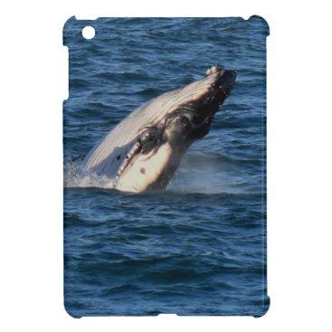 Beach Themed HUMPBACK WHALE QUEENSLAND AUSTRALIA iPad MINI COVERS