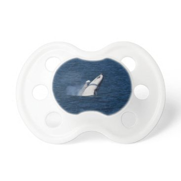 Beach Themed HUMPBACK WHALE QUEENSLAND AUSTRALIA PACIFIER