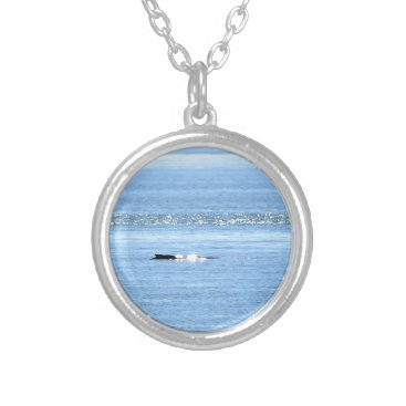 Beach Themed HUMPBACK WHALE QUEENSLAND AUSTRALIA SILVER PLATED NECKLACE