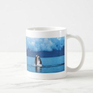Humpback Whale Rising Classic White Coffee Mug
