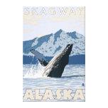 Humpback Whale - Skagway, Alaska Gallery Wrap Canvas