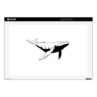 "Humpback Whale 17"" Laptop Skins"