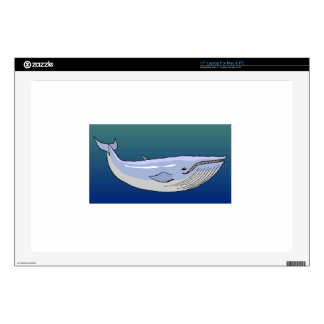 "Humpback Whale 17"" Laptop Decal"