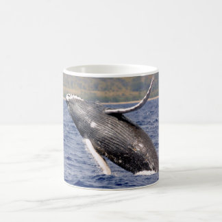 Humpback Whale Splashing Coffee Mug