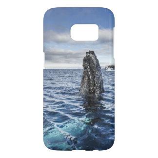 Humpback Whale Spyhops | Hope Bay, Antarctica Samsung Galaxy S7 Case