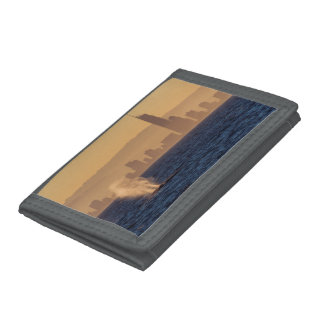 Humpback Whale Sunset Surfers Paradise Trifold Wallet