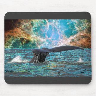 Humpback Whale Supernova Mouse Pad