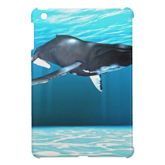 Humpback Whale Swimming iPad Mini Case