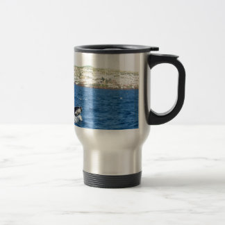 Humpback Whale Tail 15 Oz Stainless Steel Travel Mug