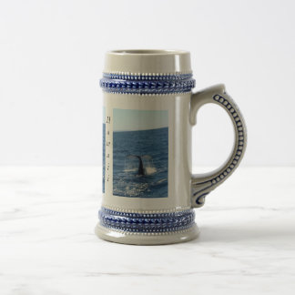 humpback-whale-tail 18 oz beer stein